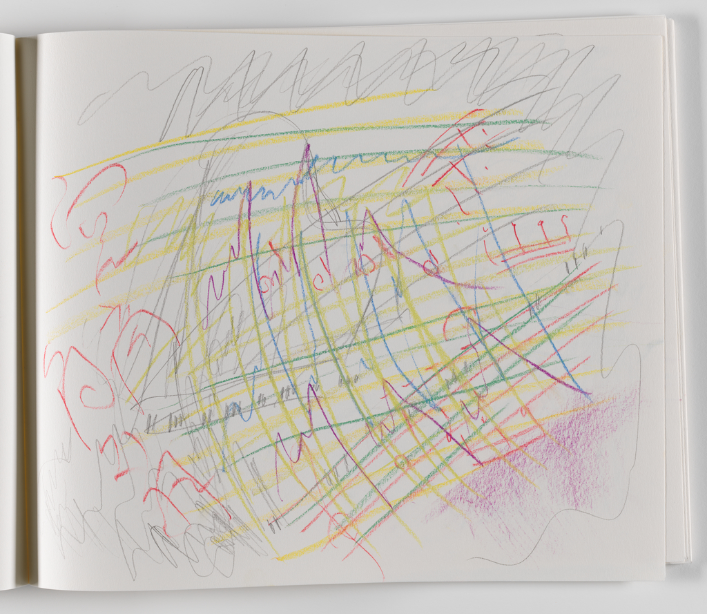 Nam June Paik, A Drawing Notebook, 1996 page 17