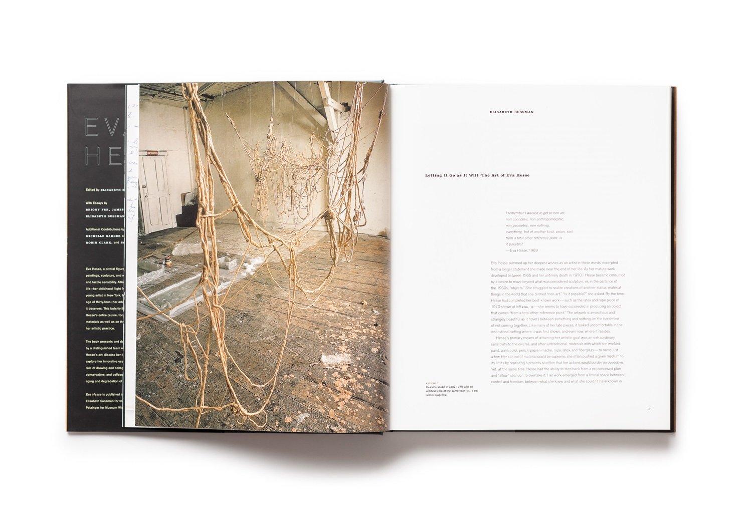 Eva Hesse publication pages 16-17