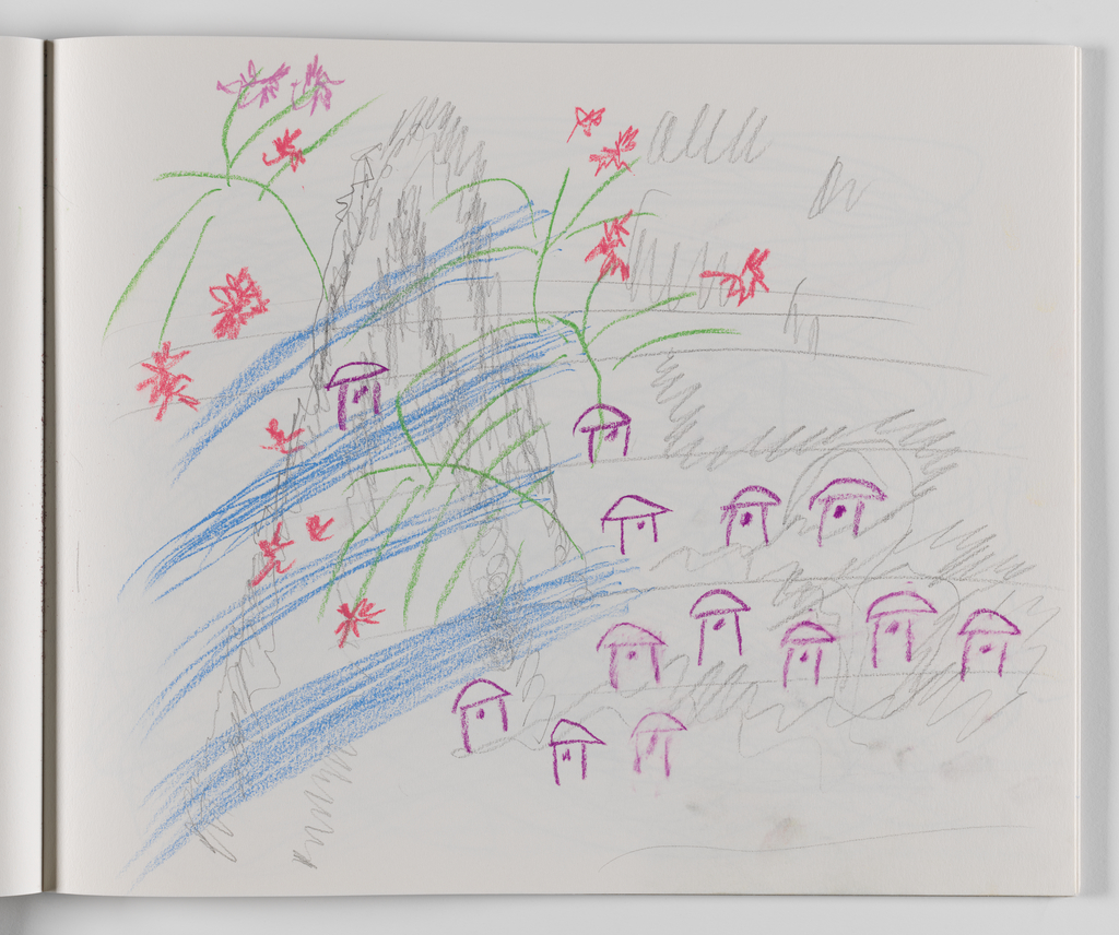 Nam June Paik, A Drawing Notebook, 1996 page 29