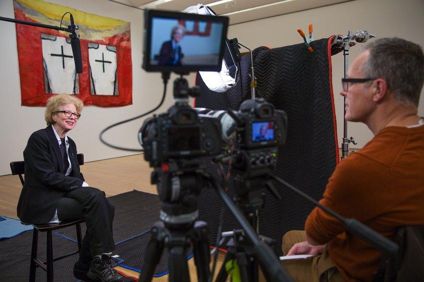 Rudolf Frieling interviews Julia Scher