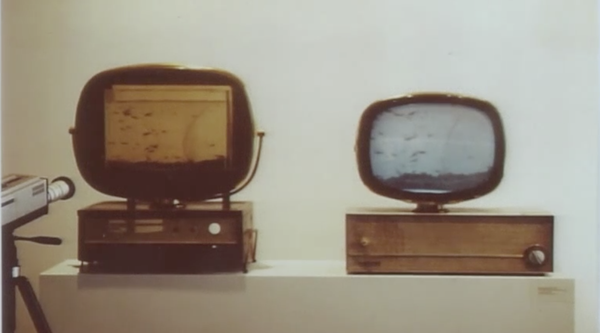 Video still, Nam June Paik Art and Process