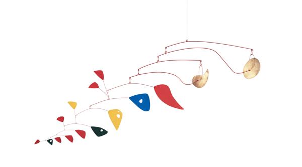 Artwork image, Alexander Calder, Double Gong