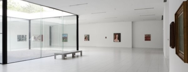 A photograph of a white gallery space, Liam Everett