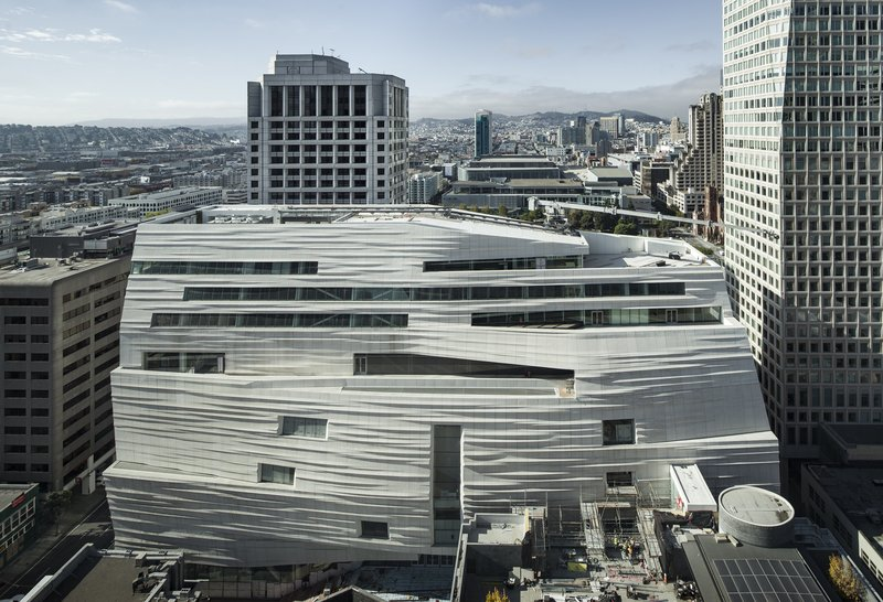 An expanded and transformed san francisco museum of modern for Contemporary art museum san francisco