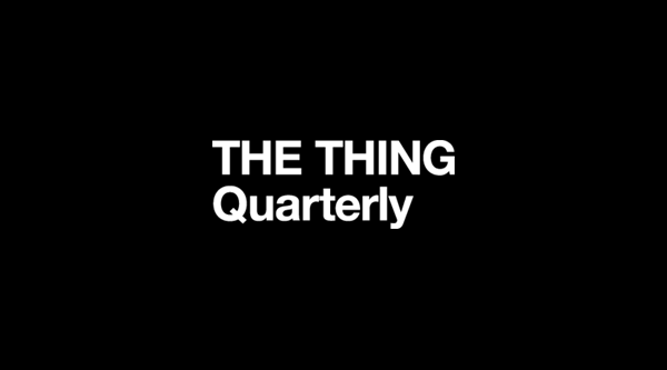 The Thing quarterly logo