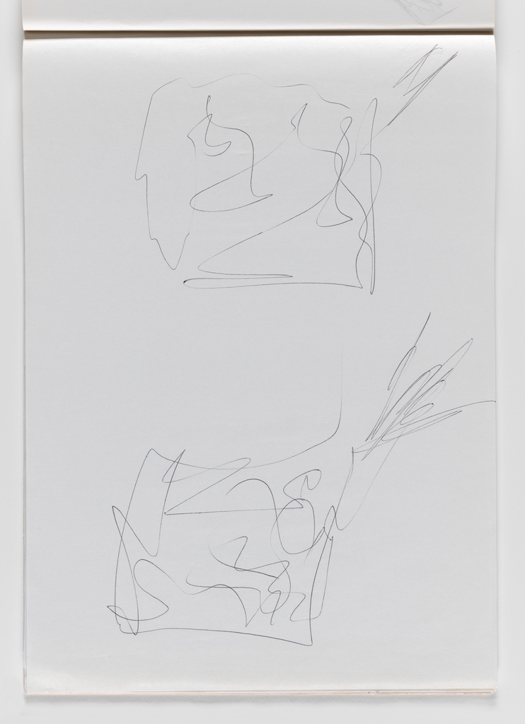 Nam June Paik, Untitled, from Untitled Notebook, 1980 page 43