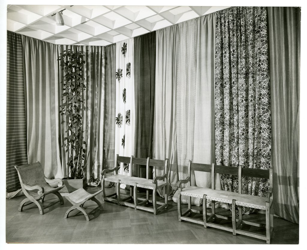 ​Installation view of Mexican Decorative Arts, 1948