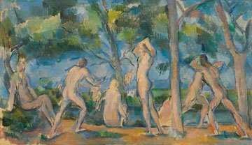 Cezanne, Bathers