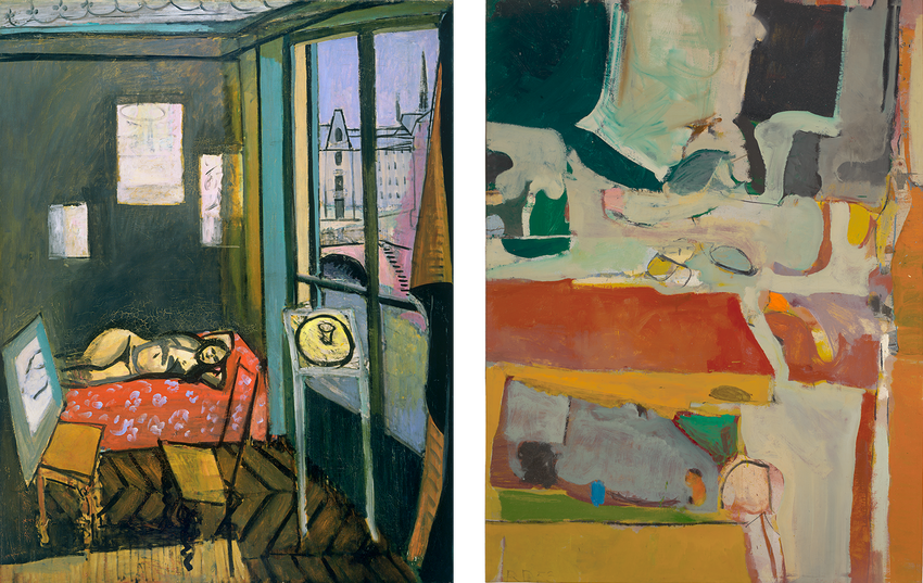 Artwork images, Matisse Studio and Diebenkorn Urbana #4