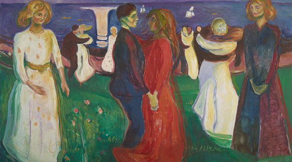 Artwork image, ​Edvard Munch, Livets dans (The Dance of Life)