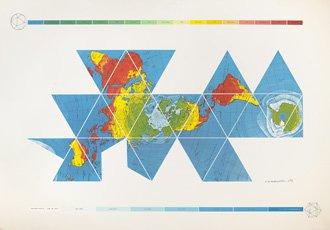 Buckminster Fuller map