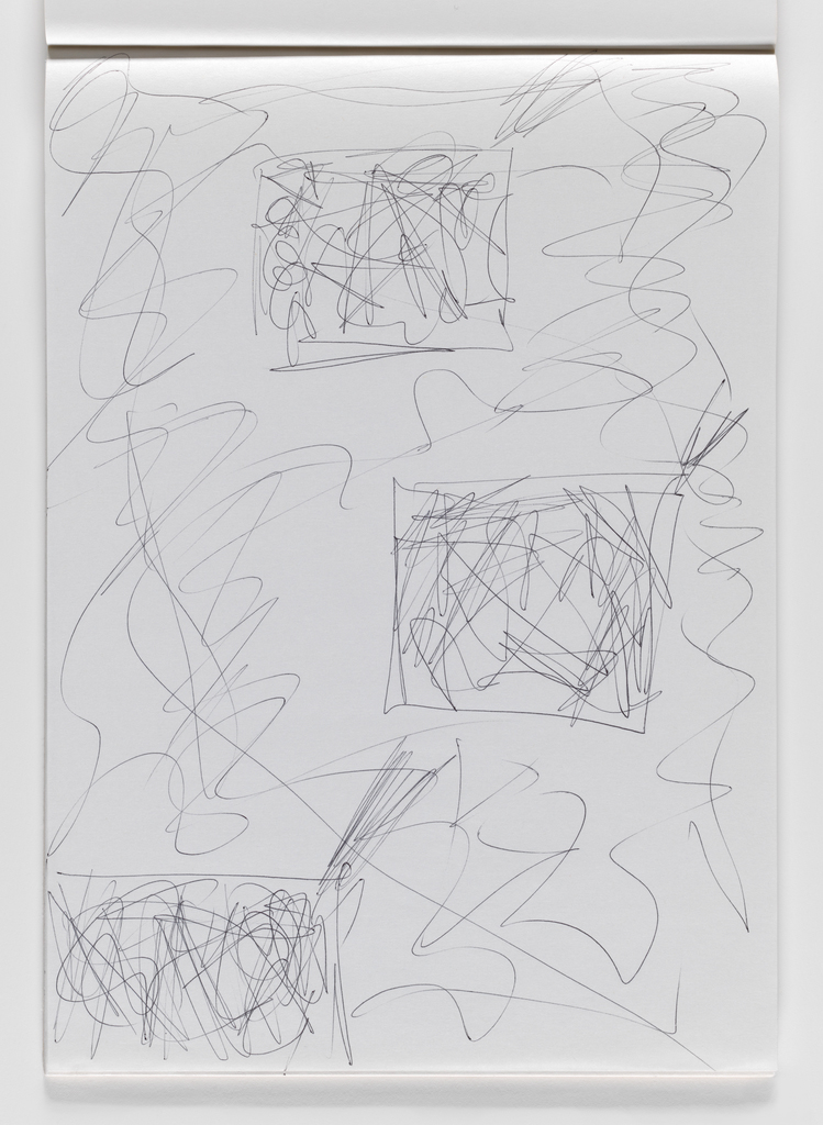 Nam June Paik, Untitled, from Untitled Notebook, 1980 page 19