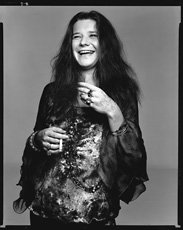 Richard Avedon, photo of Janis Joplin laughing