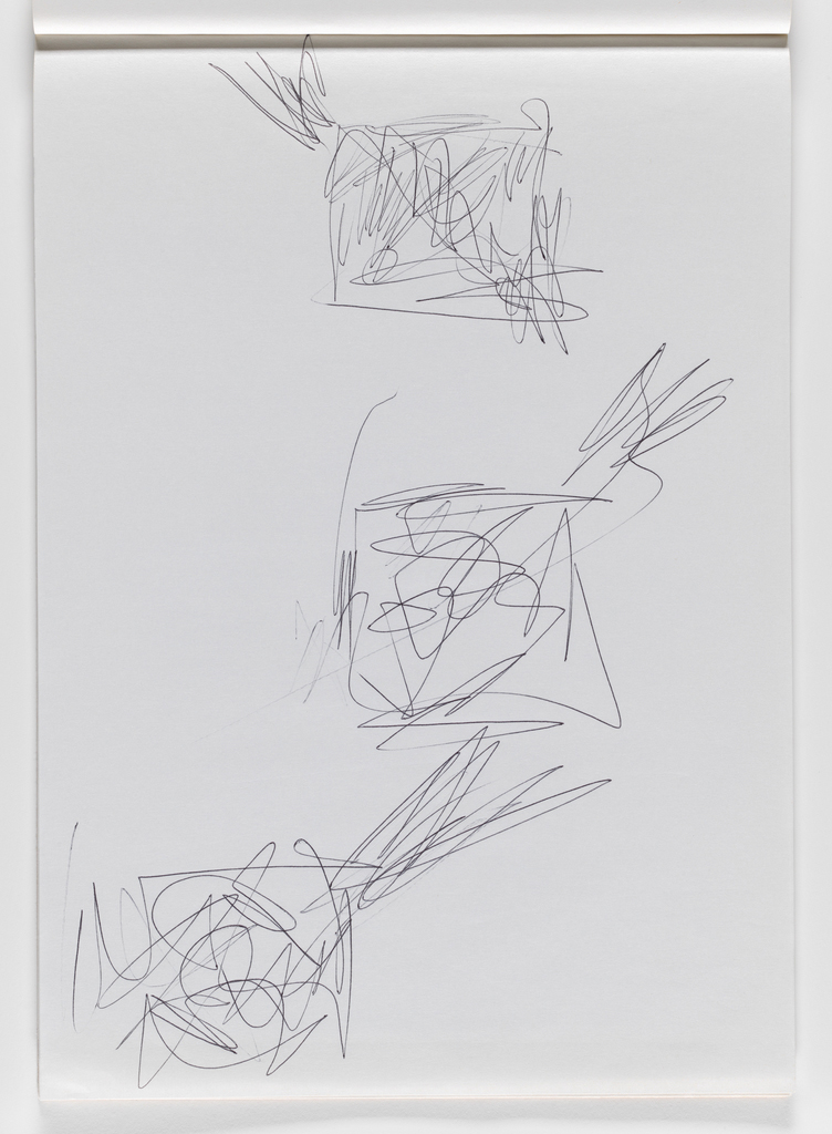 Nam June Paik, Untitled, from Untitled Notebook, 1980 page 39