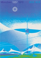 Aicher, munich 1972 olympics poster