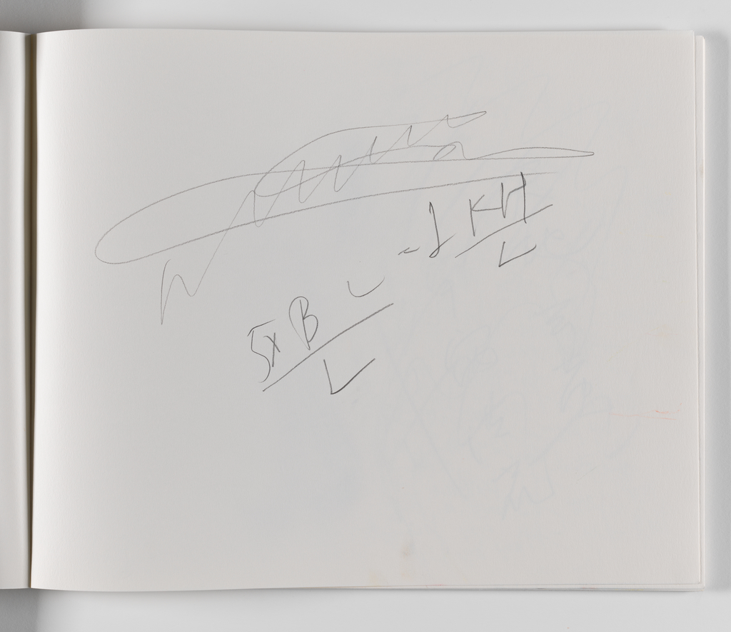 Nam June Paik, A Drawing Notebook, 1996 page 21