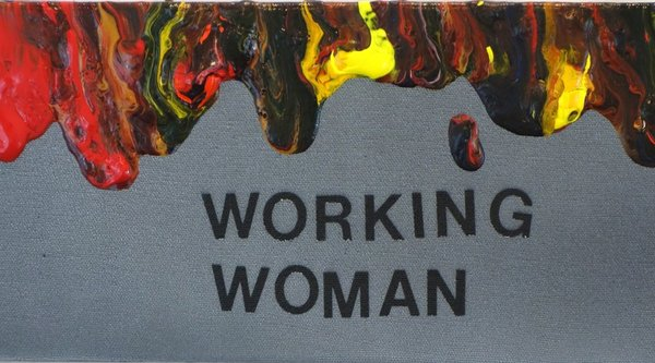 "An image with the words ""Working Man"" written on it"