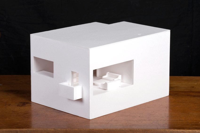 A white cubic architectural model, Soundtracks