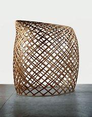 Puryear, wooden lattice sculpture