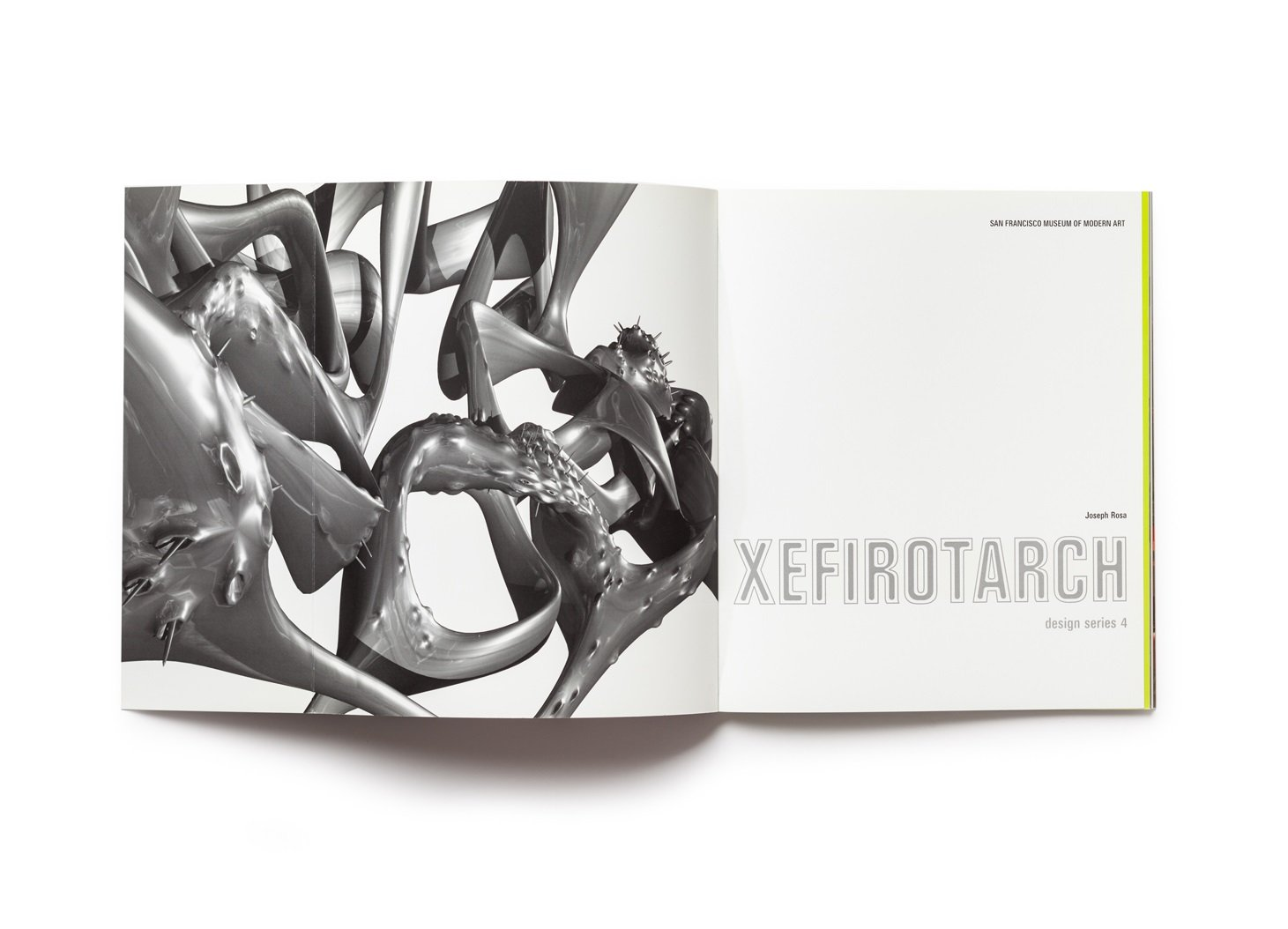 Xefirotarch: design series 4 publication front endsheet (open)