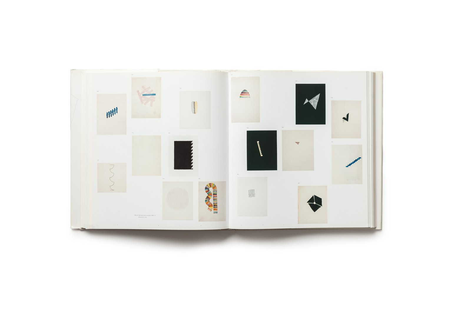 The Art of Richard Tuttle publication plates 148-163