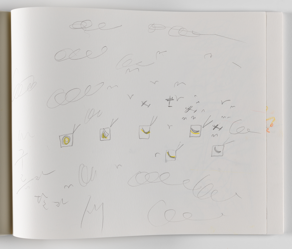 Nam June Paik, A Drawing Notebook, 1996 page 14