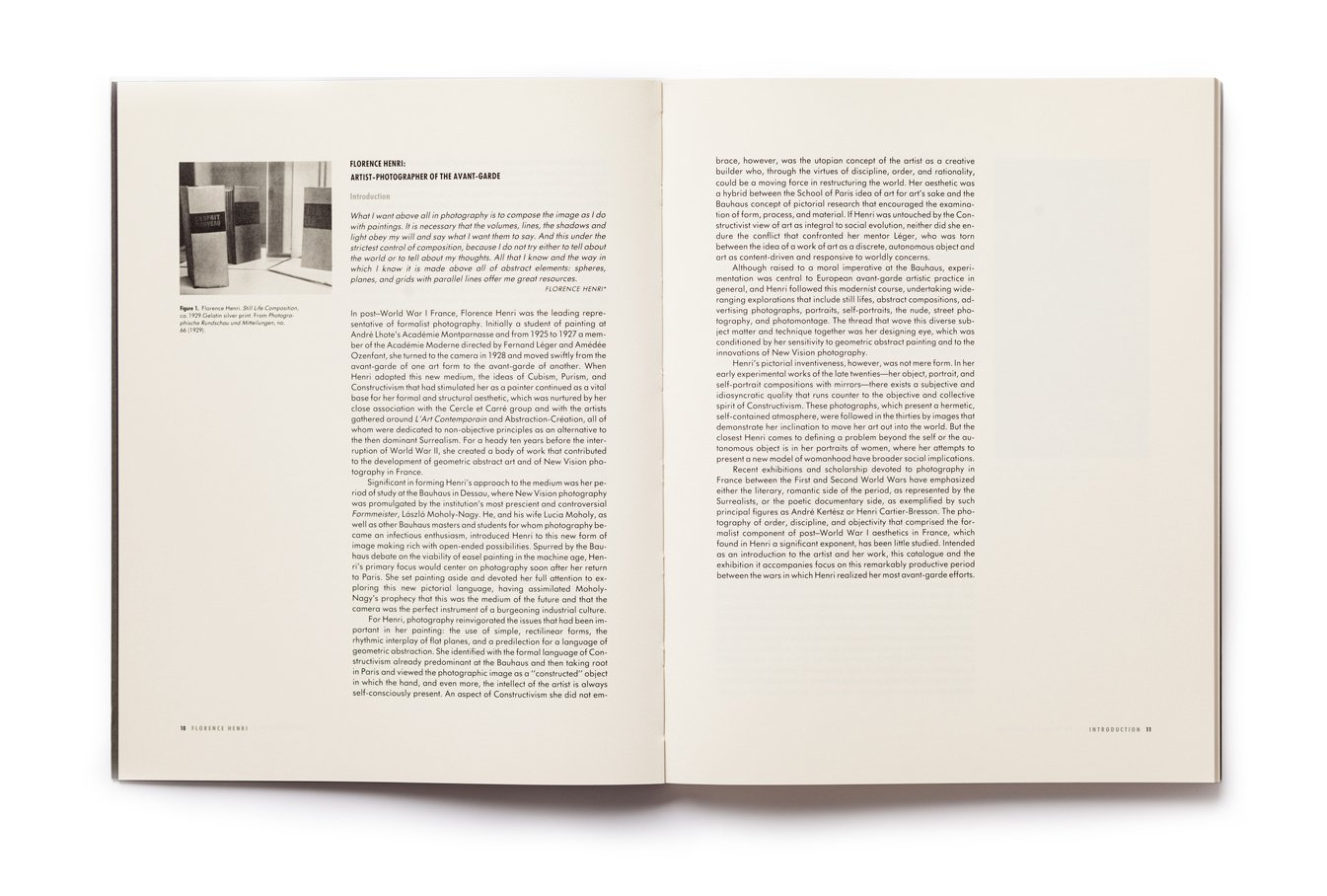 Florence Henri: Artist-Photographer of the Avant Garde, pages 10-11