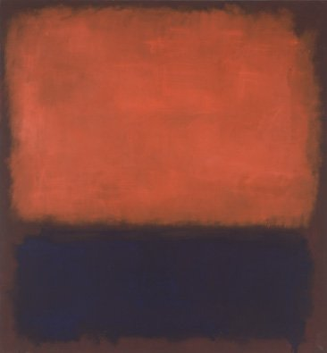 Rothko red and blue