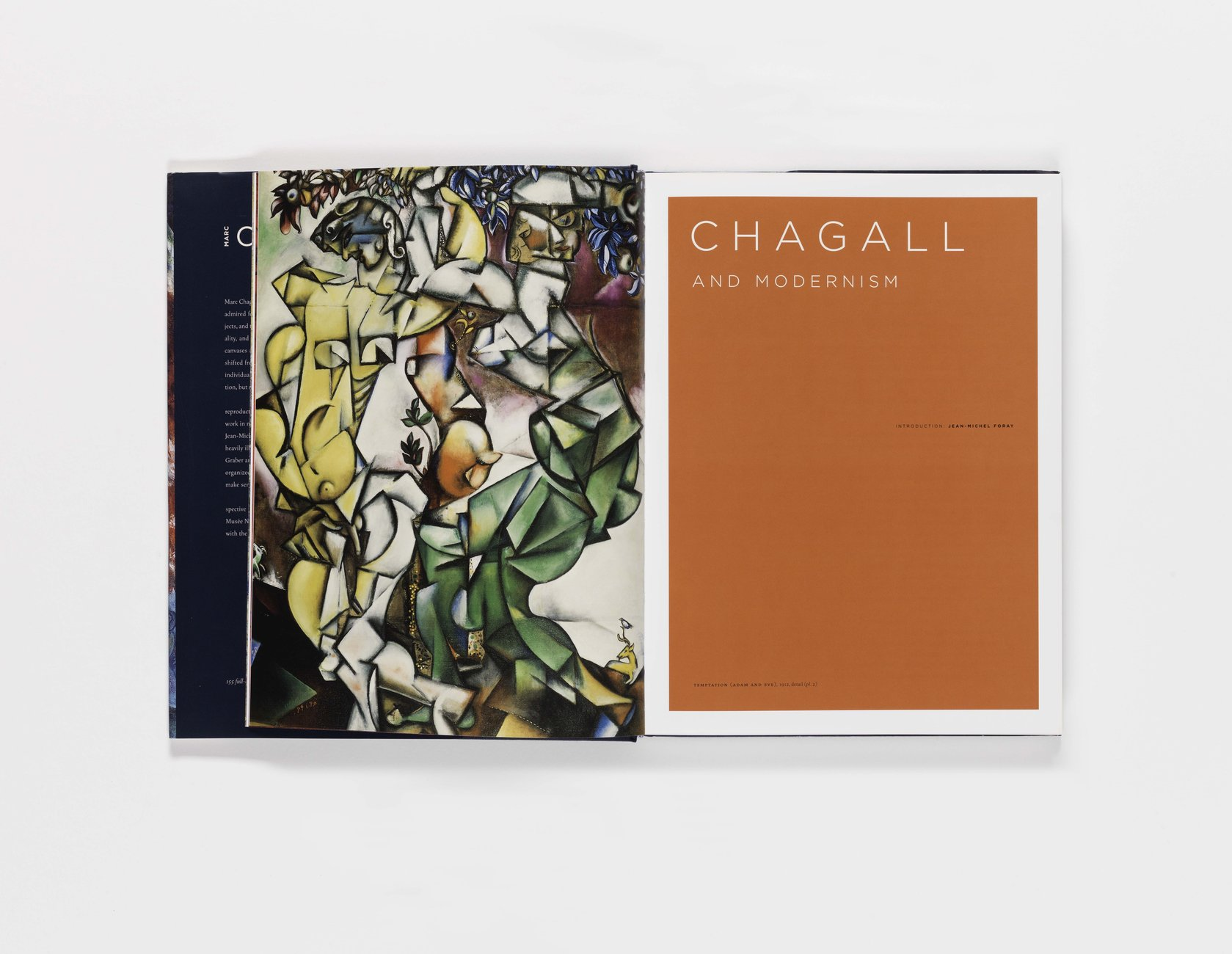 Marc Chagall publication pages 12-13