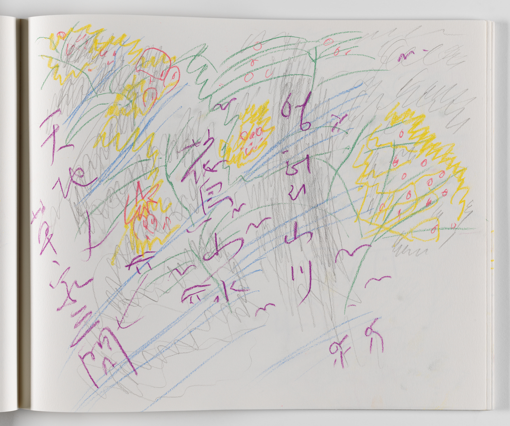 Nam June Paik, A Drawing Notebook, 1996 page 25