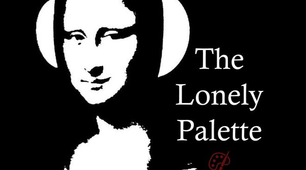 The Lonely Palette podcast logo