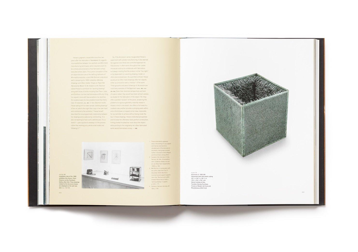 Eva Hesse publication pages 214-215