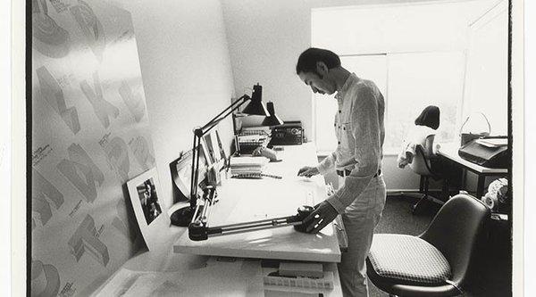 Igarashi in studio black and white