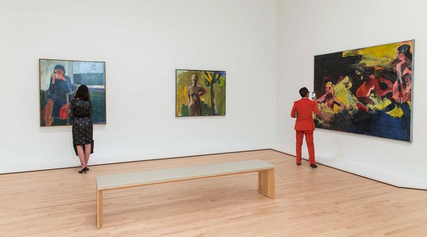 Installation view, Campaign for Art Modern and Contemporary