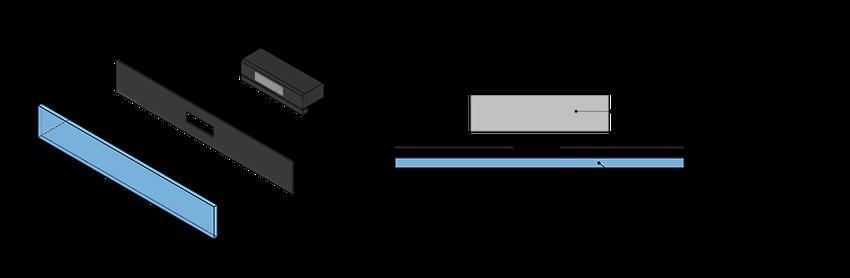 Kinect acrylic housing final assembly illustration