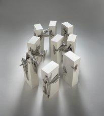 Lebbeus Woods, Nine Reconstructed Boxes
