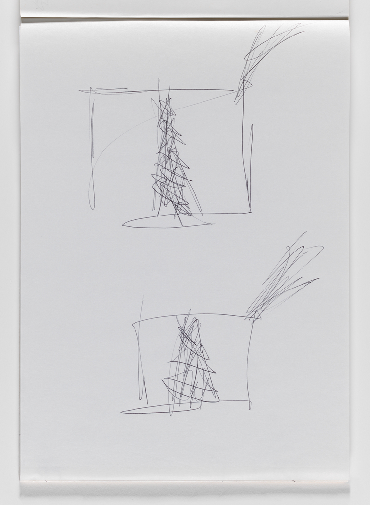 Nam June Paik, Untitled, from Untitled Notebook, 1980 page 22