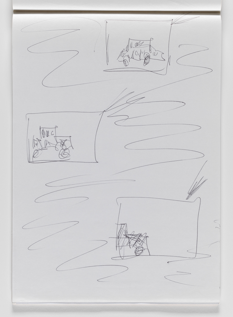 Nam June Paik, Untitled, from Untitled Notebook, 1980 page 28