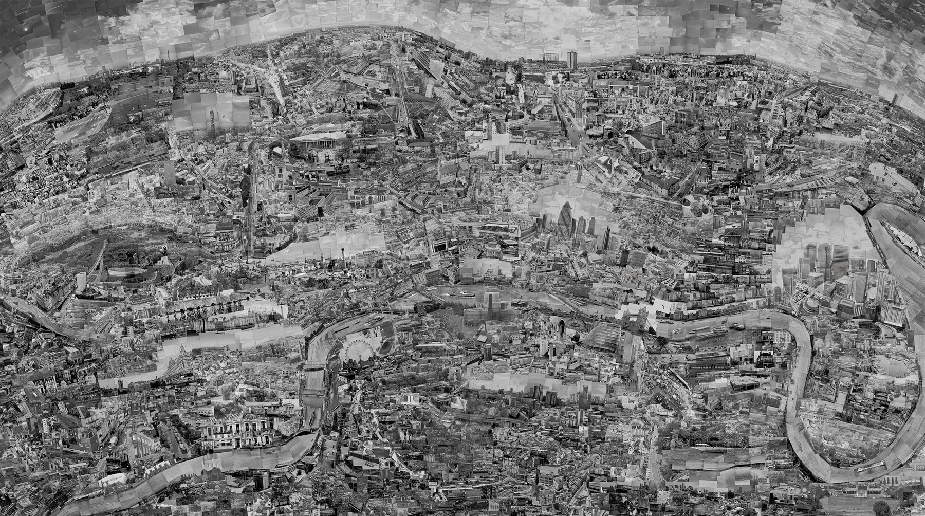 Artwork image, Sohei Nishino, London