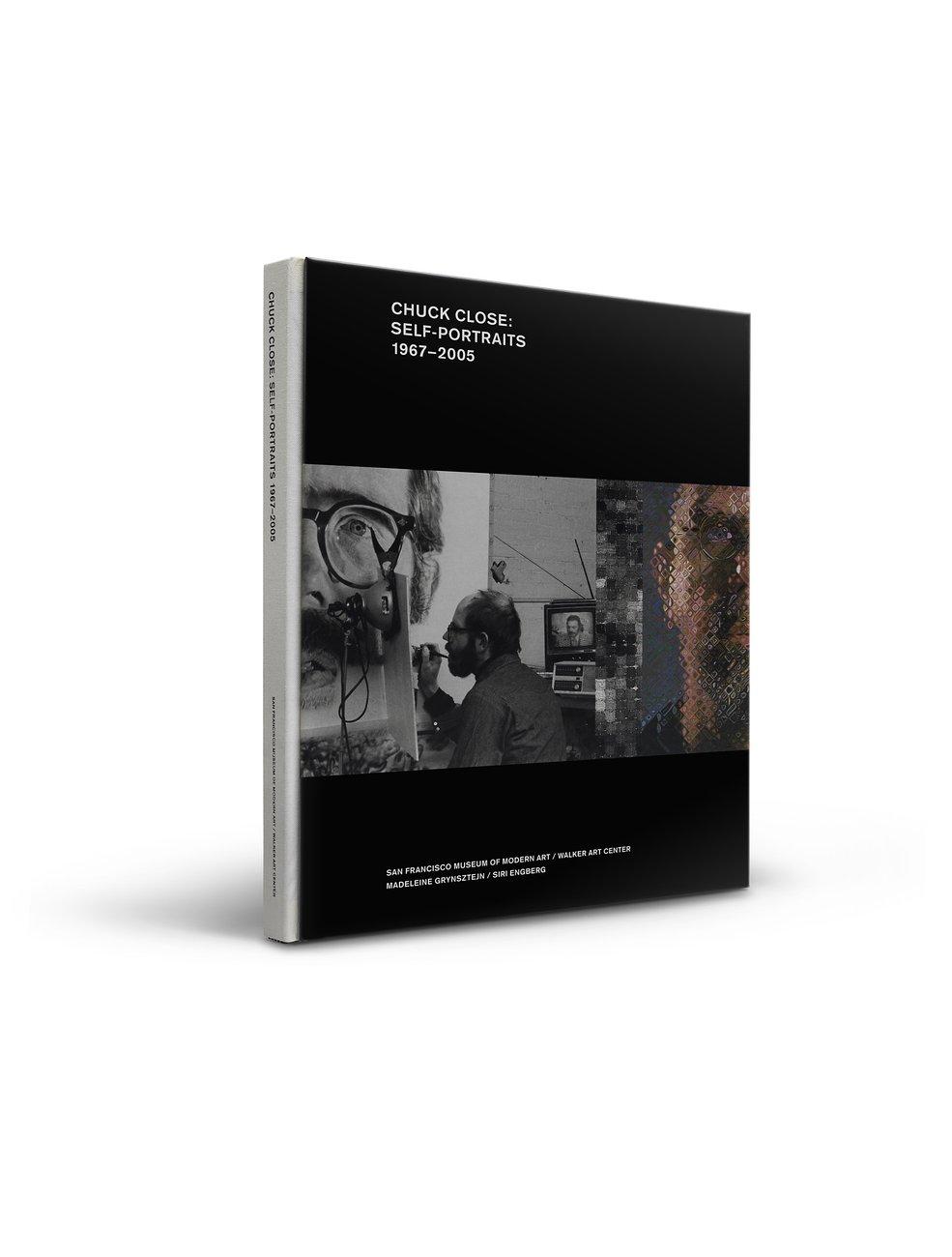 Chuck Close: Self-Portraits publication cover