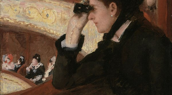 Mary Cassatt, In the Loge