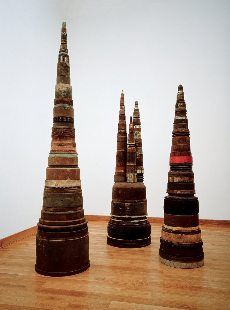 Artwork image, Tony Cragg, Guglie