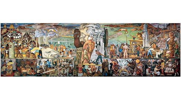 Diego Rivera mural thumbnail