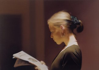 Gerhard Richter, Lesende (Reading)