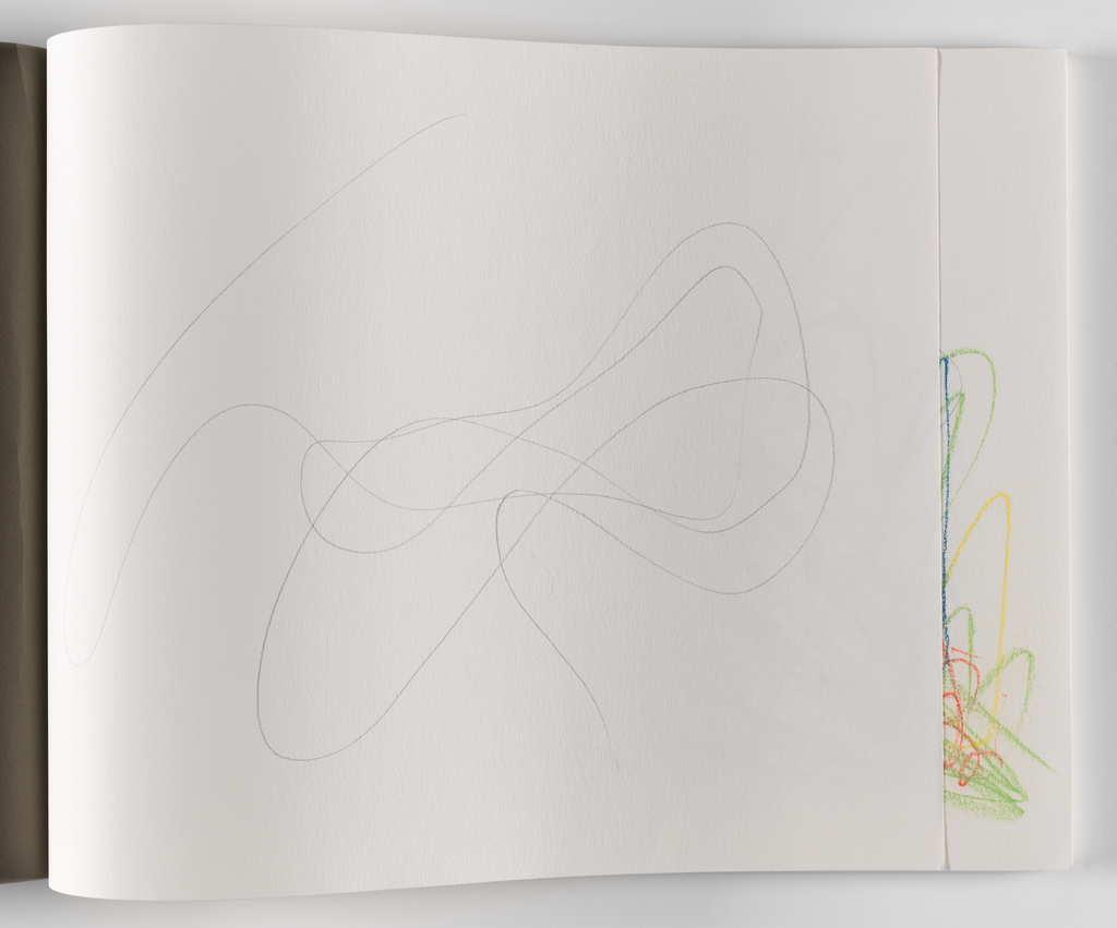 Nam June Paik, A Drawing Notebook, 1996 page 2