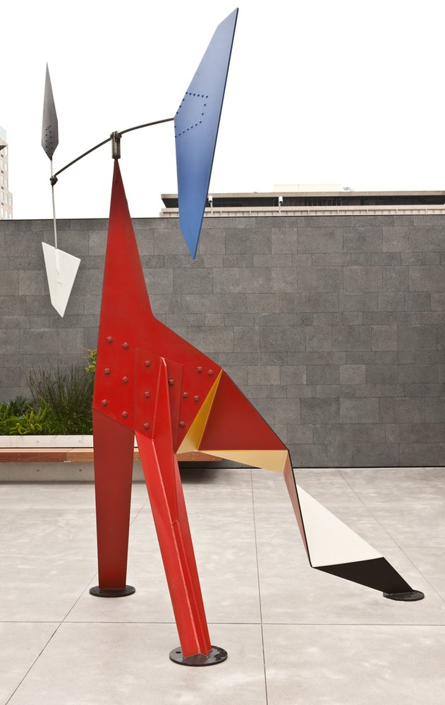 Artwork image, Alexander Calder Big Crinkly