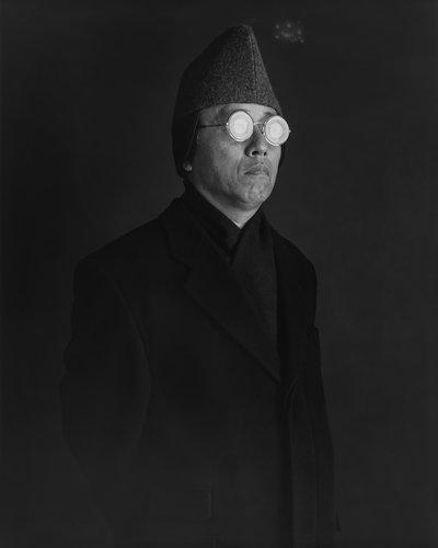 Artwork image, Hiroshi Sugimoto, Distorted Wuniversal Vision (Self-Portrait)
