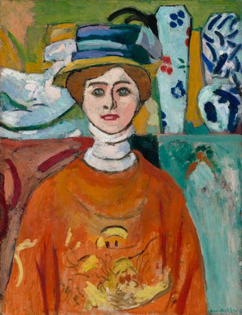 Matisse, Girl with Green Eyes