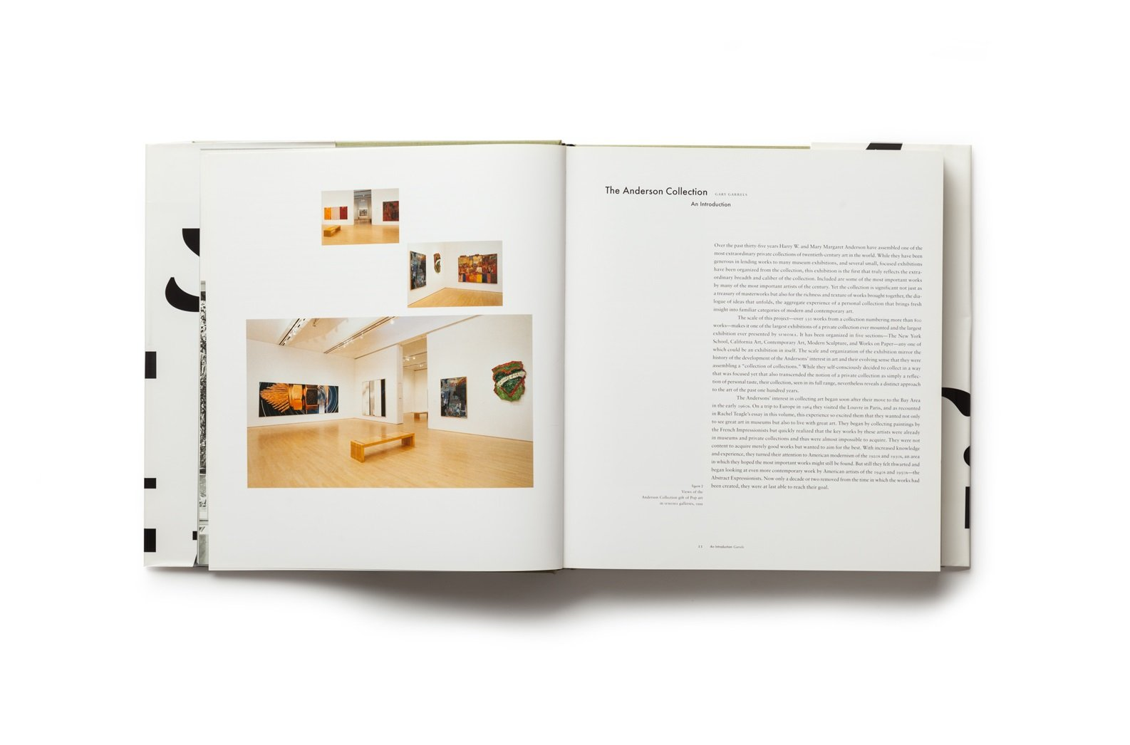Celebrating Modern Art: The Anderson Collection publication pages 10-11