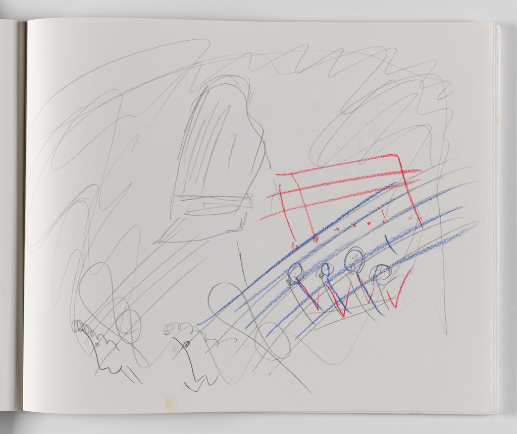 Nam June Paik, A Drawing Notebook, 1996 page 20
